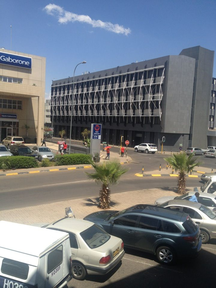 Main Mall in Gaborone, South East District