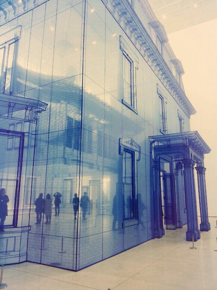 Doho Suh's installation, MMCA Seoul