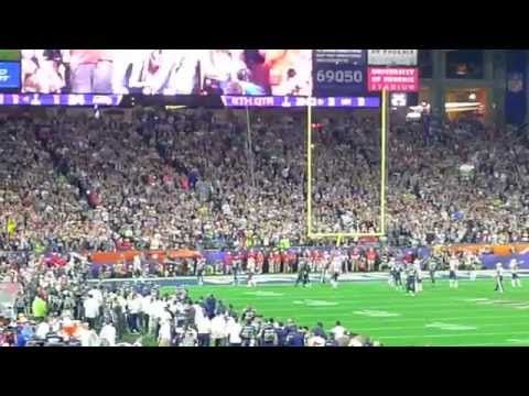 awesome Super Bowl XLIX (2015) Patriots & Seahawks Final Drive Highlights Plus Fight