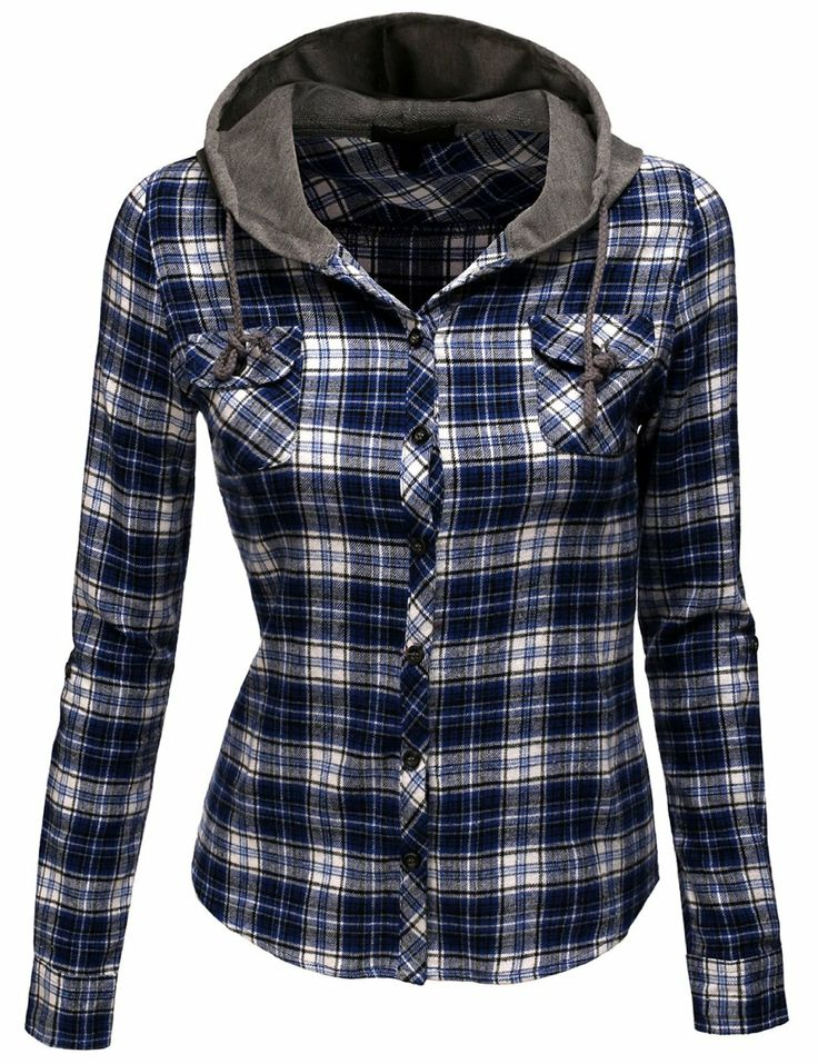 Hooded Flannel