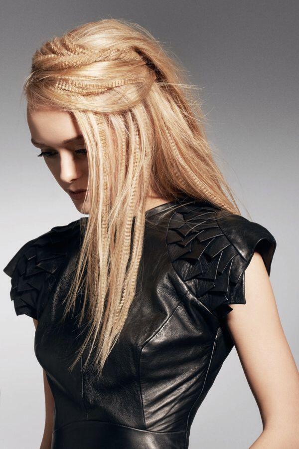 Pettinatura capelli lunghi