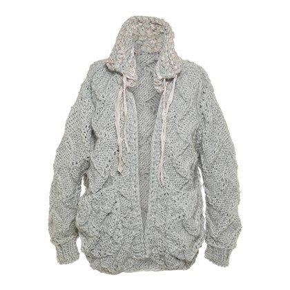 Coat w pockets intralace