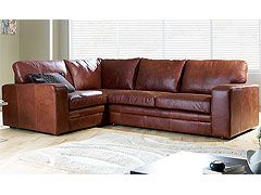 Sloane leather corner sofa - High Quality, Hand Crafted Leather Sofas: Darlings of Chelsea