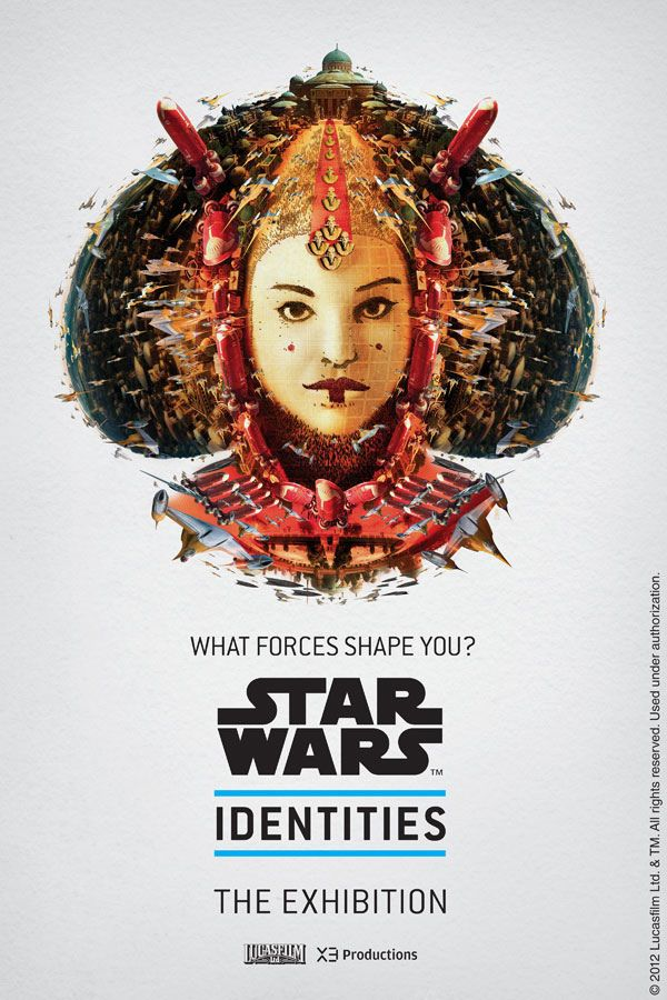 STAR WARS Identities by Gaetan Namouric, via Behance