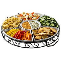 7 Piece Lazy Susan - Sam's Club: Microwave Safe, Lazy Susan, Fall Parties, Ovens Safe, Pieces Lazy, Sam'S Club, Sam Club, Sam S Club, Ceramics Server