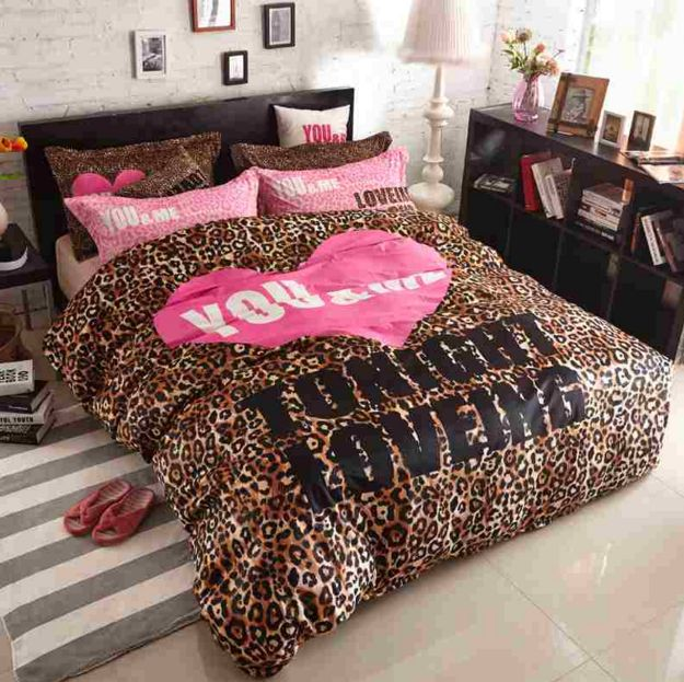 Best 25 Leopard Print Bedding Ideas Only On Pinterest