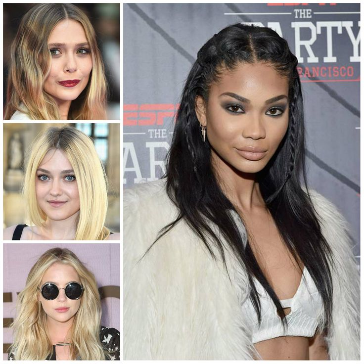 Best 25+ Center Part Hairstyles Ideas On Pinterest