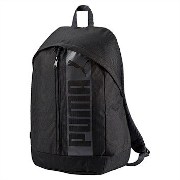 Rebel Sport - PUMA Pioneer II Backpack Black 21 Litres