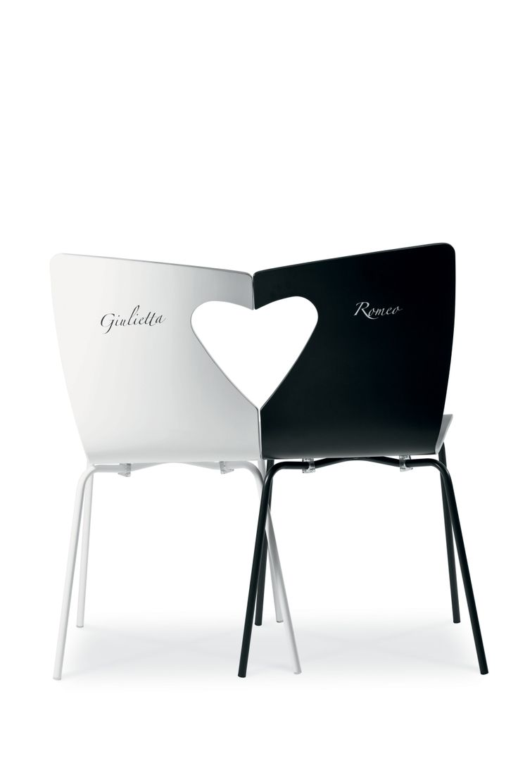 Giulietta and Romeo chairs by Midj