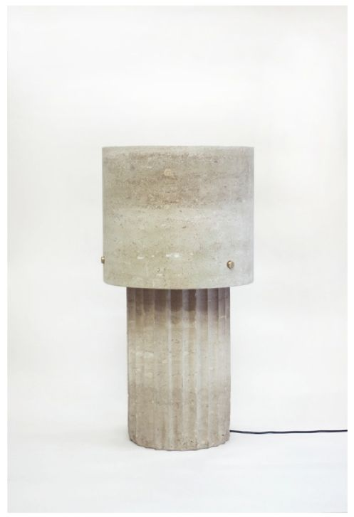 max lamb, Large Portland Limestone Lamp, 2014