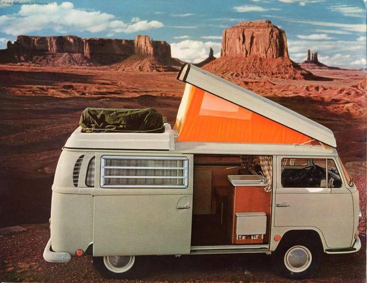 1968 VW Bus. Oh! Un viaje de sueño!!