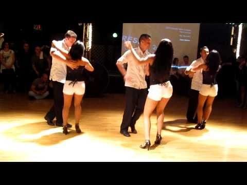 Wednesday nights & Saturday mornings: Bachata - My favourite dance - so fun!