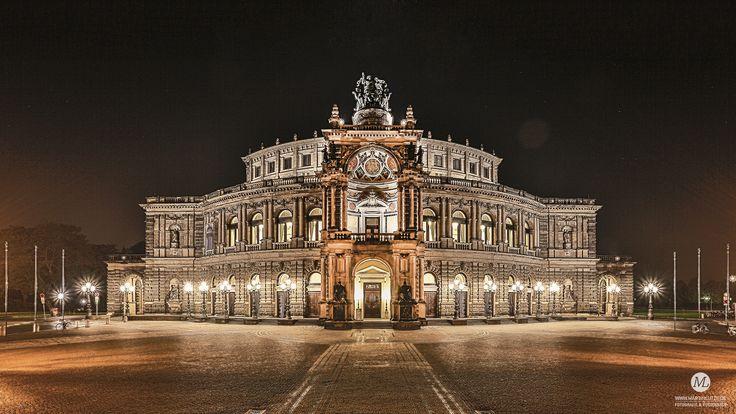 Semper Oper Dresden by Martin Lutze on 500px