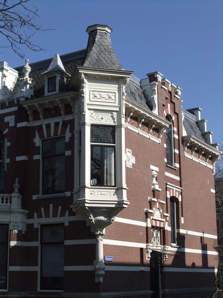 Hoek Avenue Concordia/Slotstraat, Kralingen, Rotterdam
