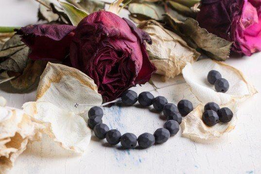 rose petals, red rose petals, roses, rose petal beads