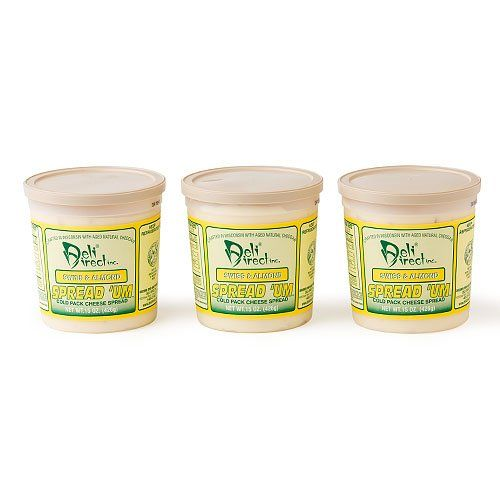 Wisconsin Cheese Spread  Swiss  Almond 3 Pack of 15ozeach Containers *** You can find more details by visiting the image link.
