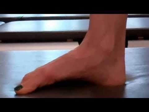 Pilates Foot Strengthening Exercises - Pilates NYC - YouTube