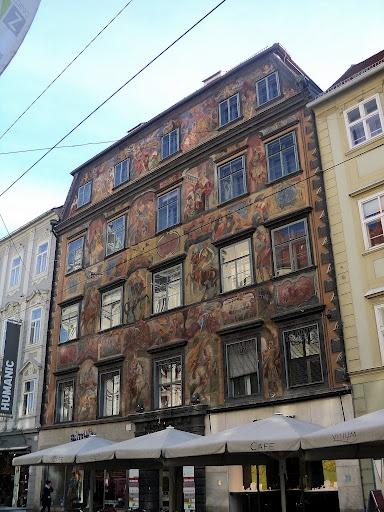 """""""Painted House"""", Graz, Austria"""