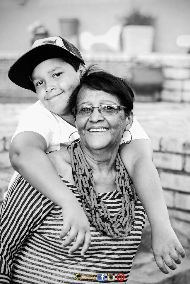 Family Shoot #granny #grandson #myfamily #monochrome #memories