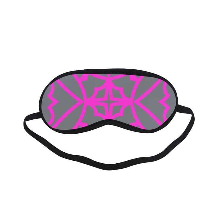 New in shop! Exclusive vintage designers relaxing eye mask for Woman / pink and grey edition 2016 Sleeping Mask.