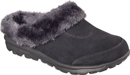 Curl up near the fireplace in these warm Skechers slippers - cozy footwear is a musthave for the winter!