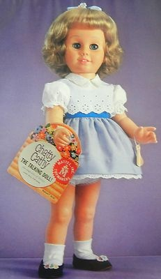 VTG Article + Color Pics/Info - Mattel's Chatty Cathy Doll Reissue & History | eBay