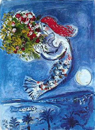 Marc #Chagall- bay of angels #art #chagall #paintingstogo #paintings to go