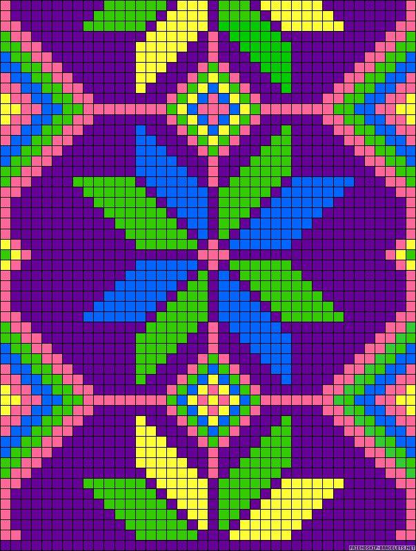 Wayuu Mochila pattern A64217 - friendship-bracelets.net