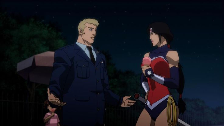 Justice League War Wonder Woman - really like the turtleneck part and sleeves for when it's cold. Always loved the ponytail for her too.