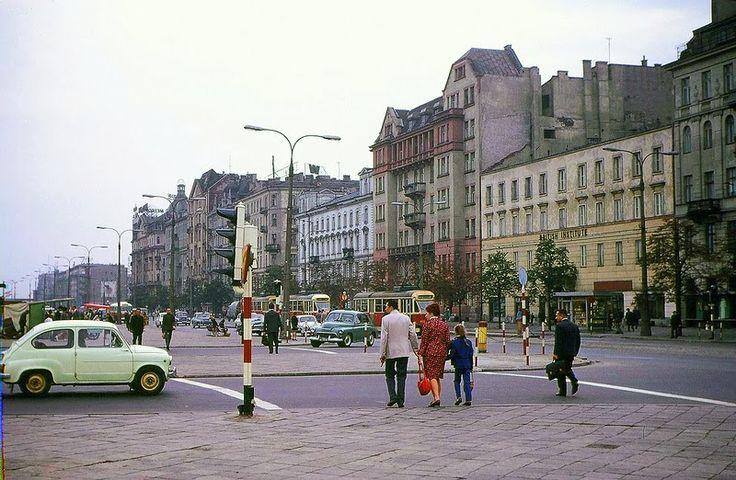 Parkingi na Starówce… Warszawa w roku 1969. Unikalne zdjęcia