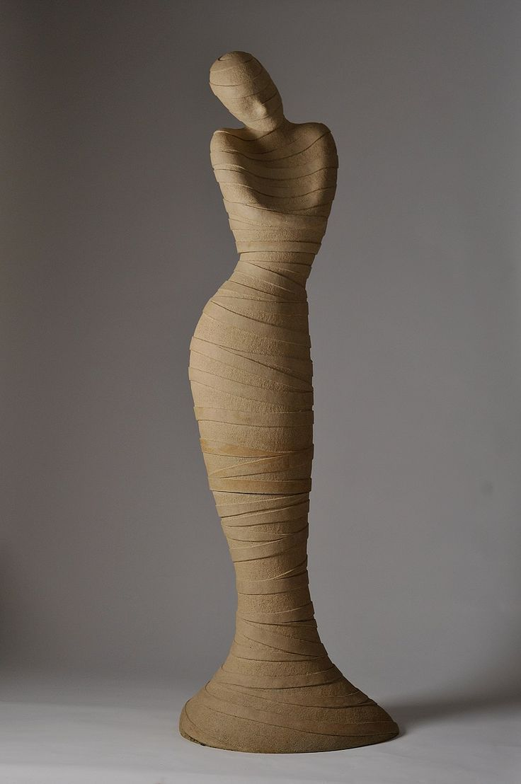 55 best sculpture images on pinterest ceramic art for Easy wood sculpture ideas