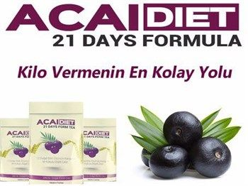 acai berry diet 2 paket