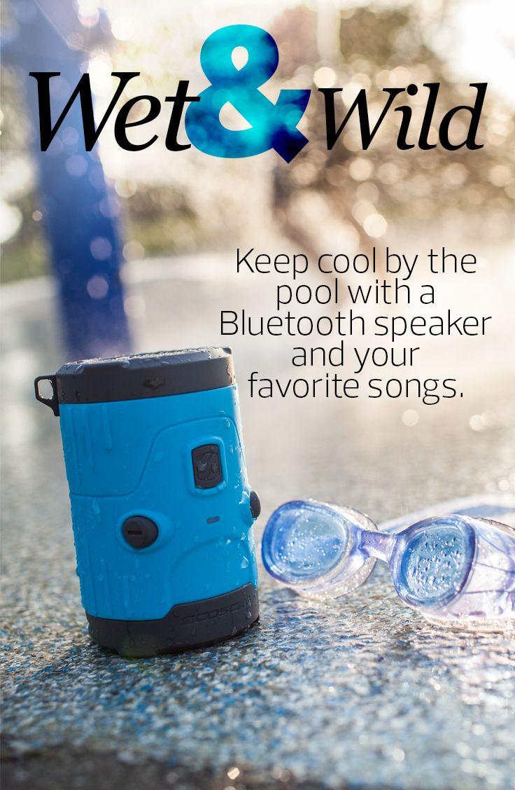 Scosche boomBOTTLE H2O #Scoshe #waterproof #Bluetooth #portablespeaker #wireless
