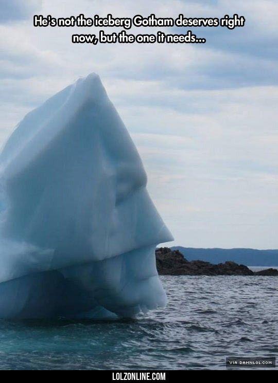 The Dark Iceberg Returns