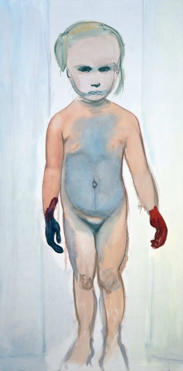 The Painter, 1994. Marlene Dumas
