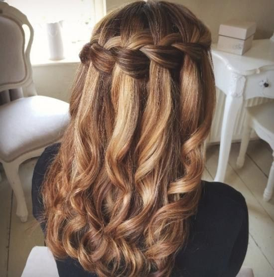 Trend Abschlussball Frisuren Mittellange Haare Am Besten … – Damen Haare