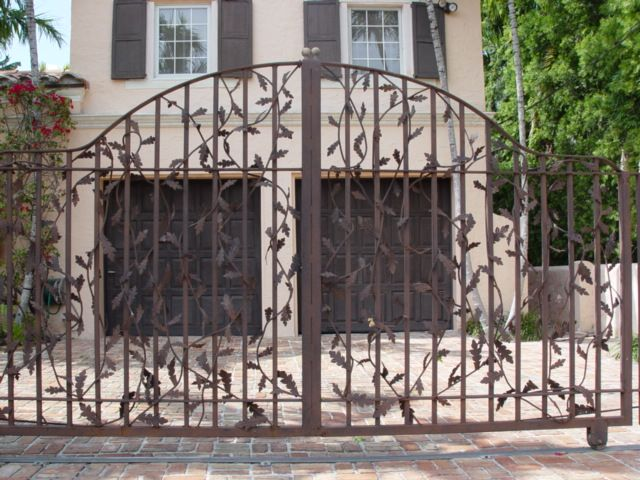 Wrought Iron Gates, you know, if you should need them. But they are really beautiful and very classy