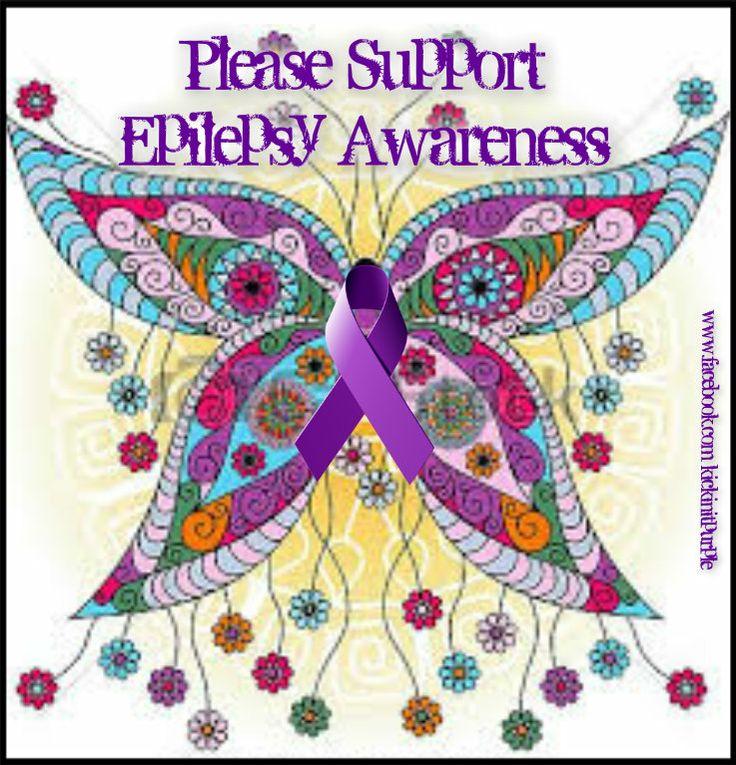 Epilepsy Awareness Butterfly mandala, Butterfly cross