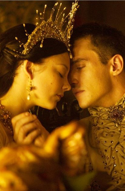 Henry VIII (Jonathan Rhys Meyers) and Anne Boleyn (Natalie Dormer). They were great together
