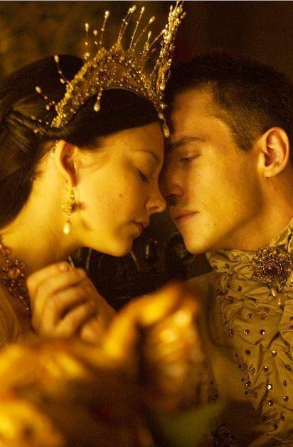 Henry VIII (Jonathan Rhys Meyers) and Anne Boleyn (Natalie Dormer). They were great together