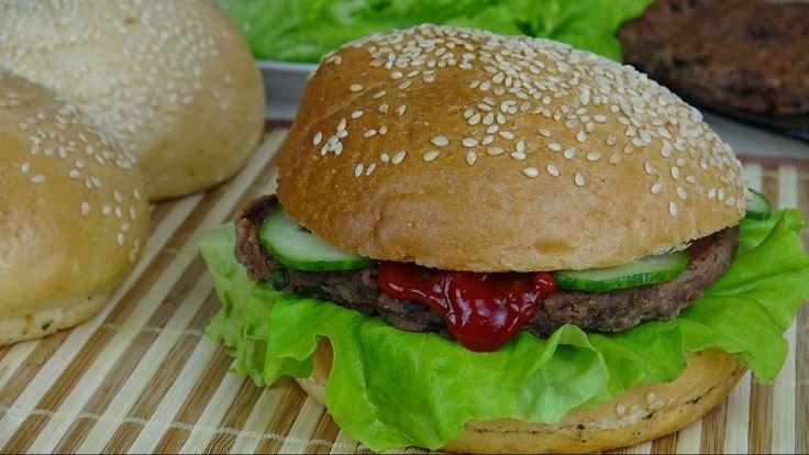 Постный вегетарианский бургер. Что приготовить в пост.