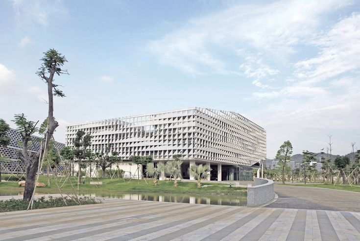 Administrative Office Building of South University Of Science And Technology Of China,Courtesy of Zhubo Design Zstudio