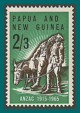 Papua New Guinea Stamps 1965 Gallipoli Landing, MNH/LH