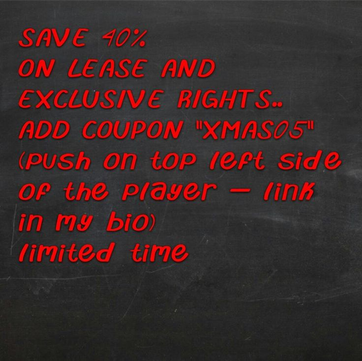 """http://www.rap-instrumentals.net/9-2/best-package-deals-on-instrumentals/ READ HOW TO USE THE COUPON CODE FOR 40% ON BEATS..COUPON CODE: """"XMAS05"""" !"""