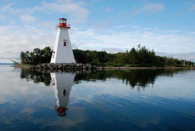 Baddeck Lighthouse, Cape Breton, Nova Scotia