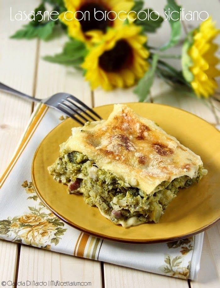 My Ricettarium: Lasagne con broccolo siciliano