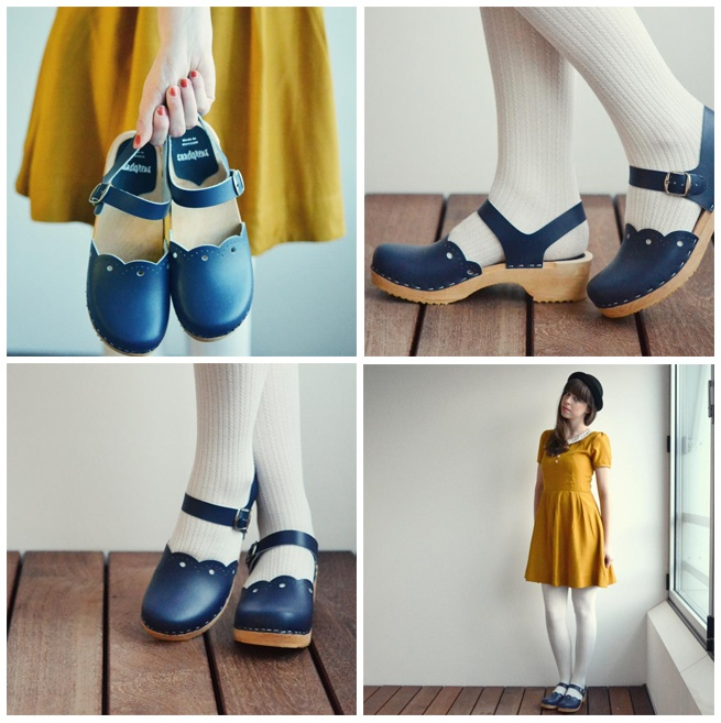 Cute blogger in our Milan clogs: http://squeakyswing.blogspot.ch/2013/01/i-love-my-sandgrens-clogs.html