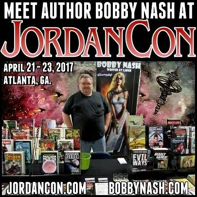 "My next convention appearance is JordanCon on April 21 - 23, 2017 in Atlanta, GA. www.jordancon.org  Here's my panel schedule: Friday 5:30 p.m. - WRITE WHAT YOU DON'T KNOW Sometimes, you need to leave that comfort zone and take a chance. But don't do it blindly. Examples, tips, and tricks for expanding your horizon.  Sunday 2:30 p.m. - PHILOSOPHY IN WRITING Walking the fine line of ""Writing to Entertain"" and ""Writing to Say Something"""