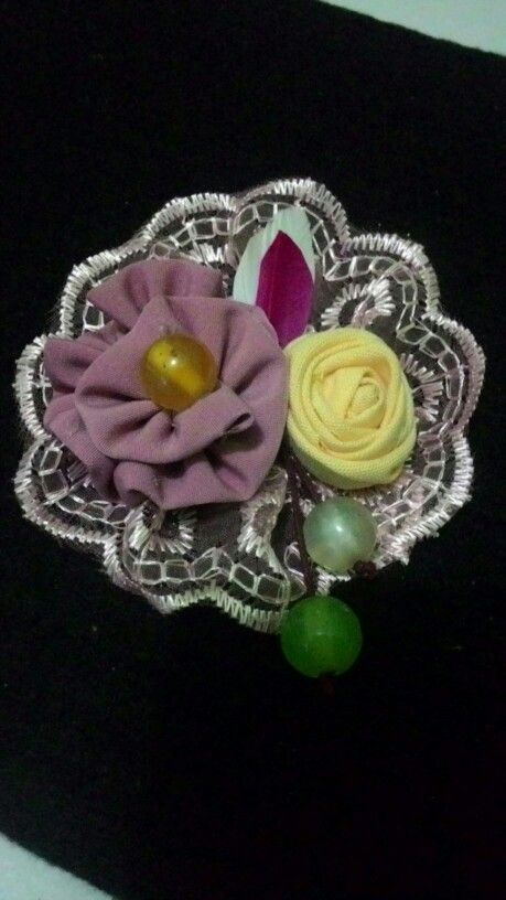 Korsase brooch, my creations