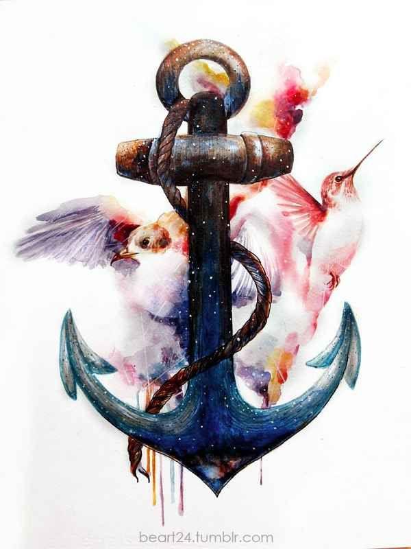 &qout;A Smooth Sea never made a Skilled Sailor&qout;  . Das tätowierte Anker Motiv steht für ewig währende (Seemanns)-Liebe. Es gibt unzählige Tattoo-Vorlagen als Kombination von Anker und den unterschiedlichsten Elementen. Heute zählt das Anker-Tattoo zu den am häufigsten tätowierten Motiven weltweit.…